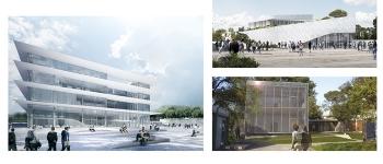 Pose des premières pierres, Université Paul-Valéry Montpellier 3