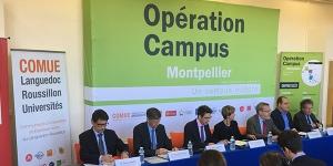 Signature des contrats de financements entre la ComUE LR-Universités, la Banque Européenne d'Investissement et la Caisse des Dépôts